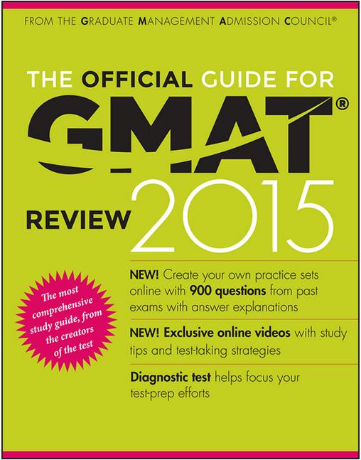 Gmac Gmat Book