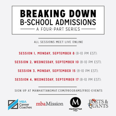 Breaking Down B-School Admissions