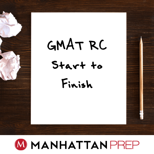 GMAT reading comprehension example problem tips and help