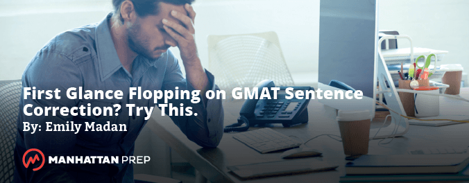 GMAT Sentence Correction Strategies