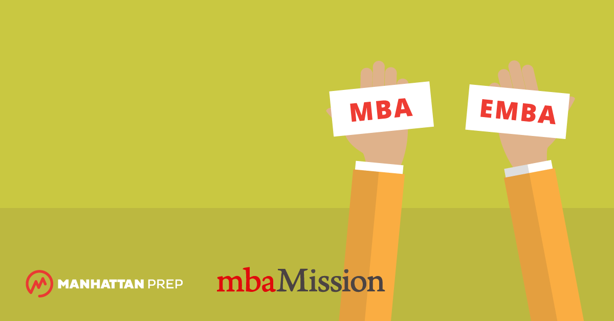 Manhattan Prep GMAT Blog - EMBA and MBA: Know the Differences! by mbaMission