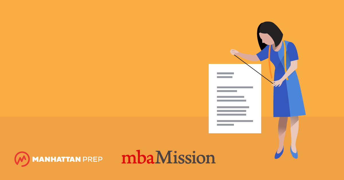 Manhattan Prep GMAT Blog - MBA Admissions Myths Destroyed: At Least I Don't Have to Rework My Resume by mbaMission