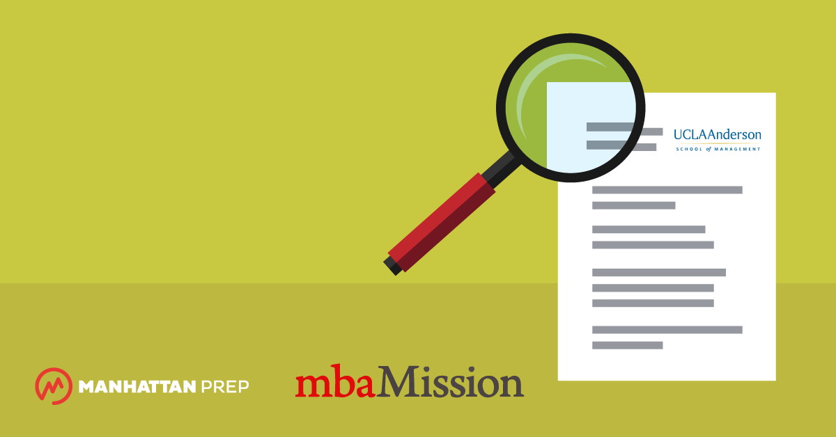 Manhattan Prep GMAT Blog - UCLA Anderson Essay Analysis, 2017-2018 by mbaMission