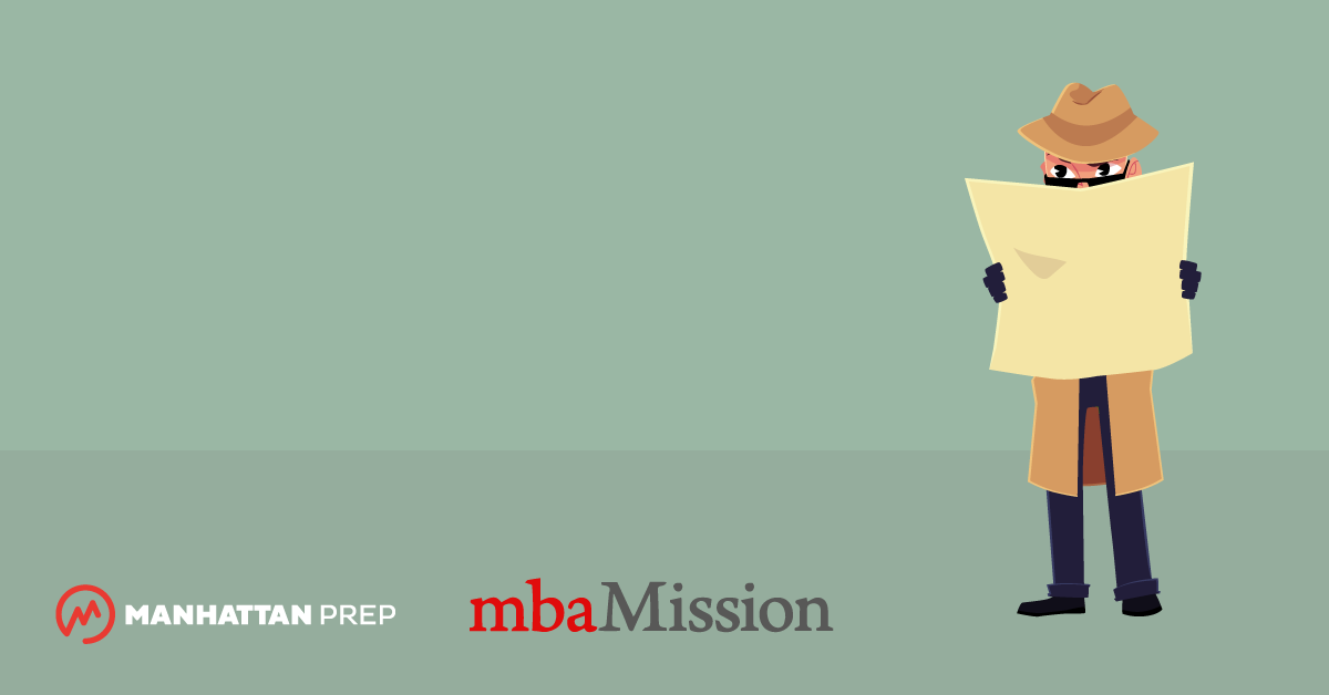 Manhattan Prep GMAT Blog - Mission Admission: Finding