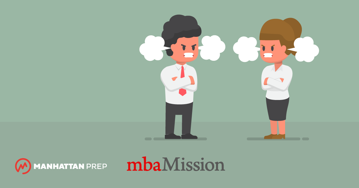 Manhattan Prep GMAT Blog - MBA Admissions Myths Destroyed: I Should Worry Because My Coworker is Applying Too! by mbaMission