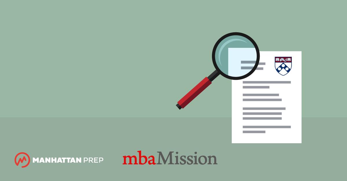 Manhattan Prep GMAT Blog - Wharton Essay Analysis, 2018-2019 by mbaMission