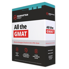 All the GMAT Strategy Guide Set, 7th Edition