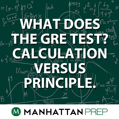 what does the GRE test?