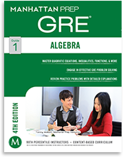 GRE Strategy Guides & Supplements