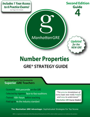 Errata - Number Properties, 2nd Edition - GRE