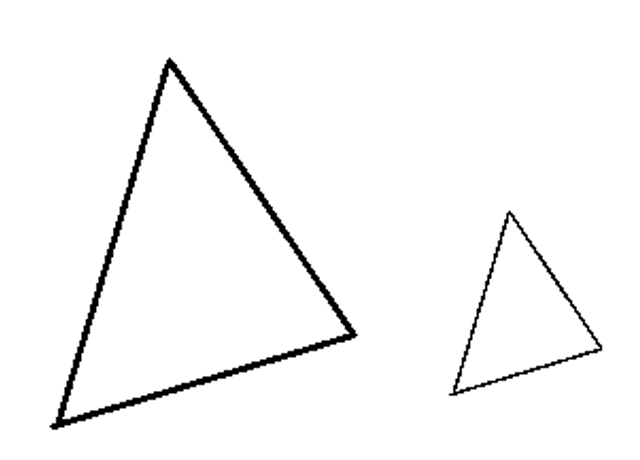 Manhattan Prep GRE Blog - GRE Geometry: 3 Ways to Spot Similar Triangles: Diagram 2
