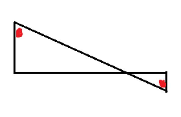 Manhattan Prep GRE Blog - GRE Geometry: 3 Ways to Spot Similar Triangles: Diagram 4