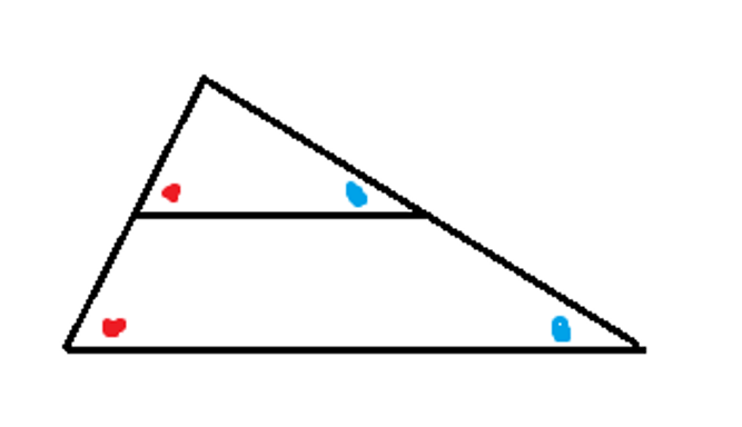 Manhattan Prep GRE Blog - GRE Geometry: 3 Ways to Spot Similar Triangles: Diagram 6