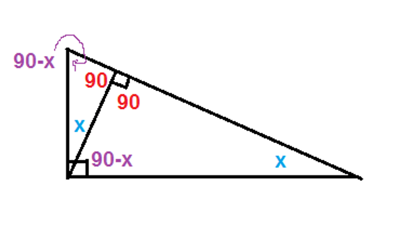 Manhattan Prep GRE Blog - GRE Geometry: 3 Ways to Spot Similar Triangles: Diagram 8