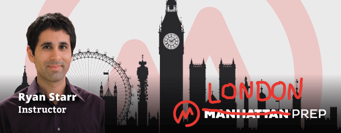 Manhattan Prep GRE Blog - We're Going Across the Pond! Check out our inaugural London GRE class