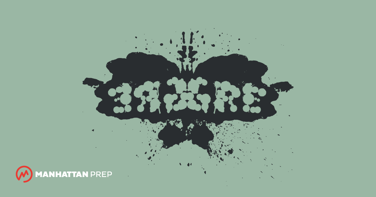Manhattan Prep GRE Blog - GRE Verbal is Not a Rorschach Test by Tom Anderson