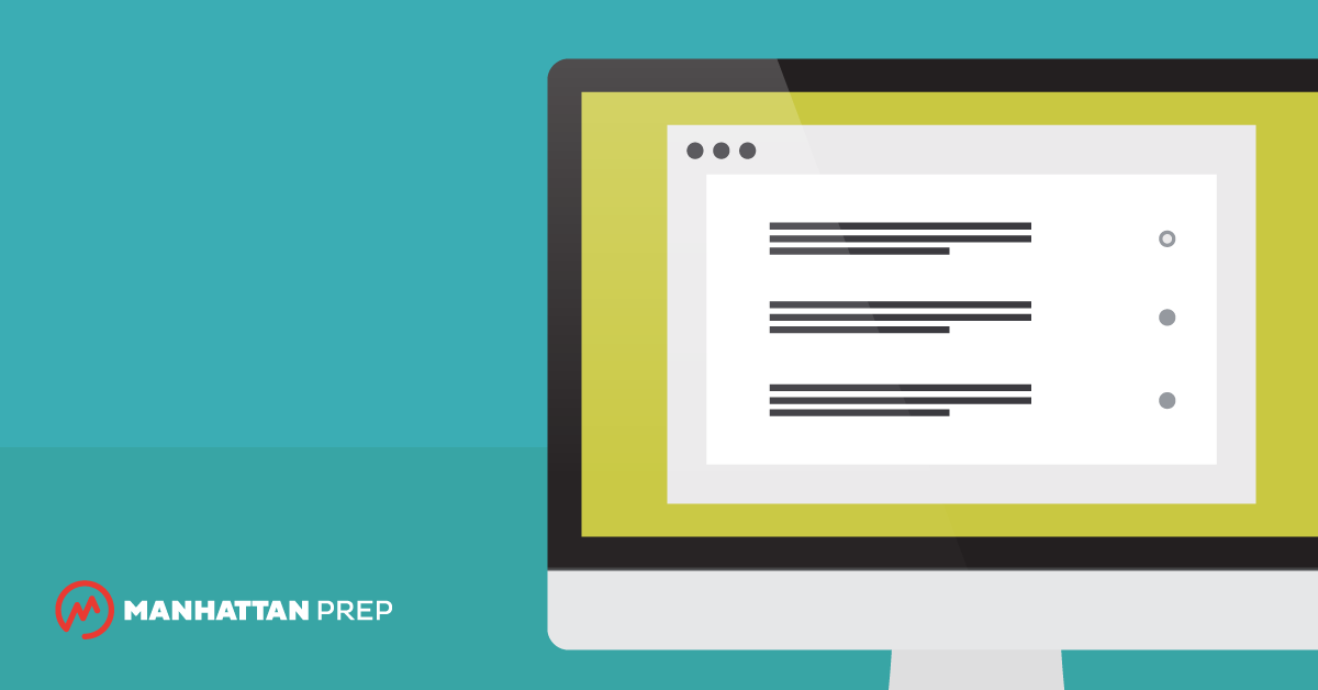 Manhattan Prep GRE Blog - When to Mark Questions on the GRE by Chelsey Cooley