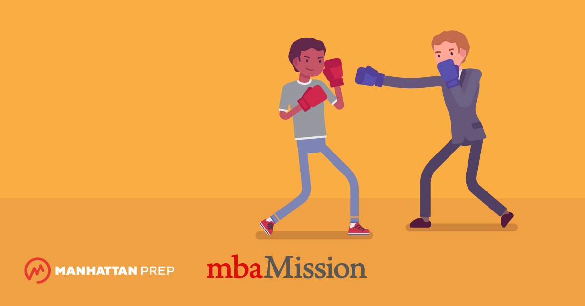 Manhattan Prep GRE Blog - mbaMission and Manhattan Prep's GMAT vs. GRE Infographic by mbaMission