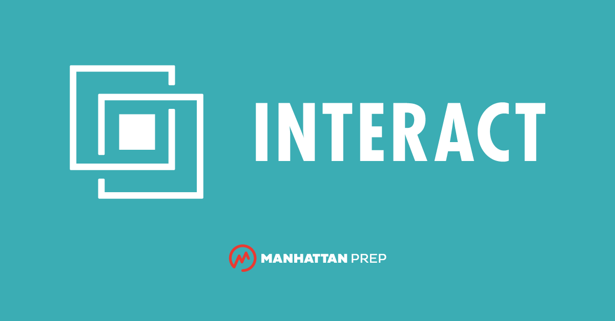 Manhattan Prep GRE Blog - Interact for GRE, Our New Adaptive & Interactive GRE Prep, is Here! by Manhattan Prep