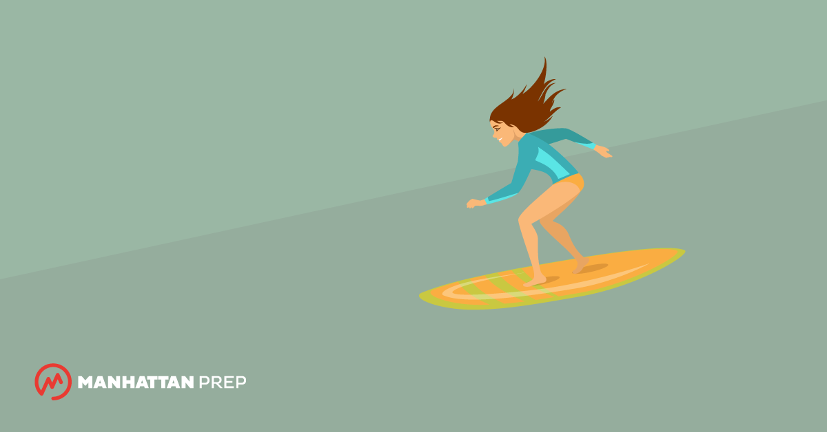 Manhattan Prep GRE Blog - 8 Things Learning to Surf Has Taught Me about Studying for the GRE by Cat Powell