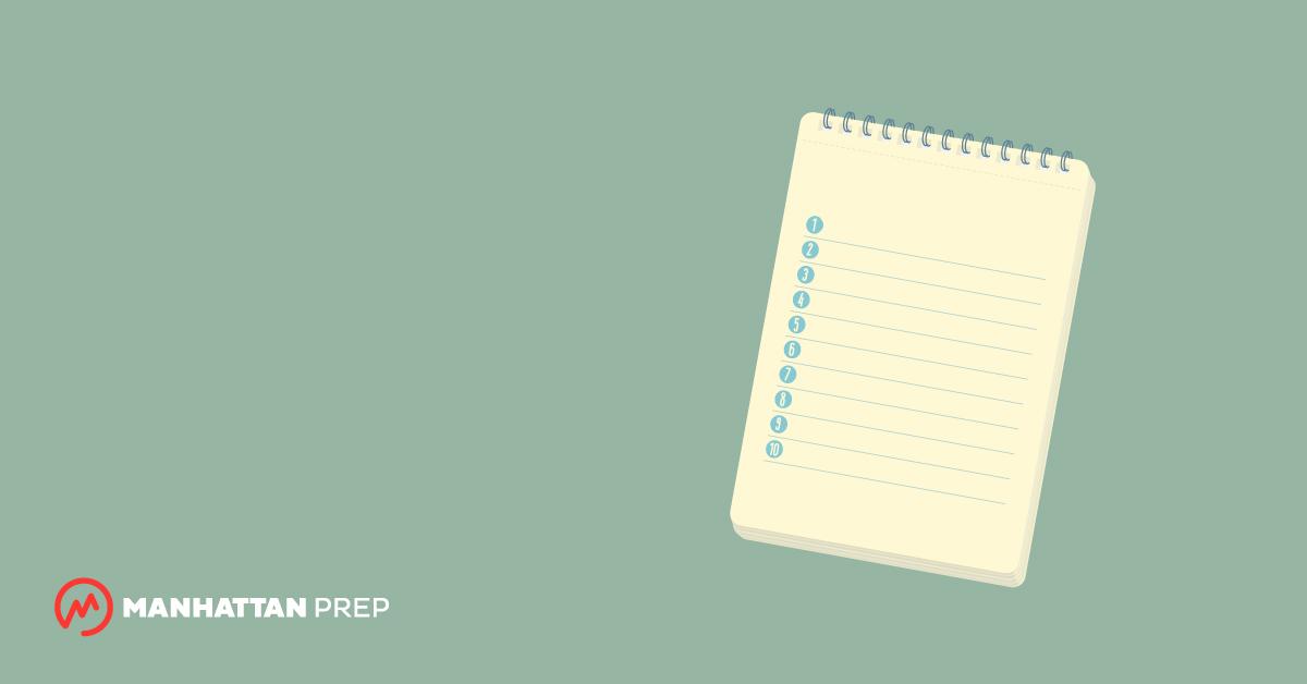 Top 10 GRE Quantitative Comparisons Tips