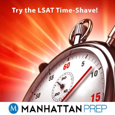 LSAT-TIME-SHAVE