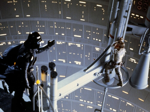 Vader Luke Confrontation