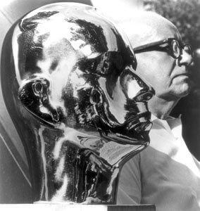 Buckminster Fuller Portrait by Isamu Noguchi