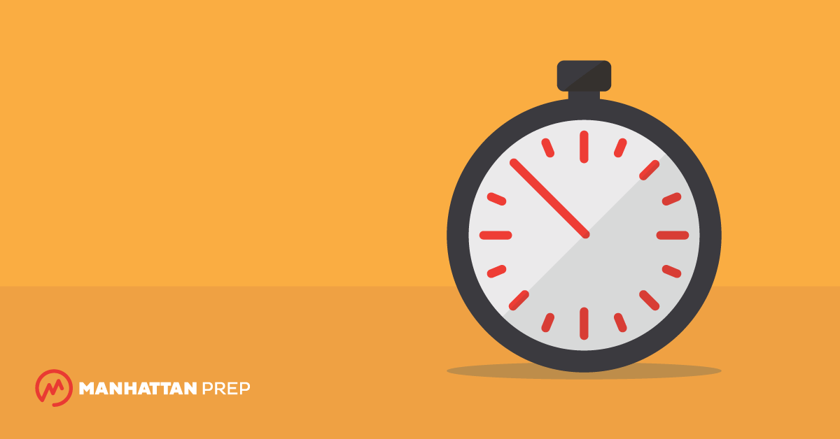 Manhattan Prep LSAT Blog - High-Level Tips for LSAT Time Management by Daniel Fogel