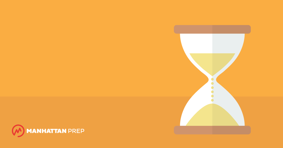 Manhattan Prep LSAT Blog - Mastering the Science of LSAT Timing by Allison Bell