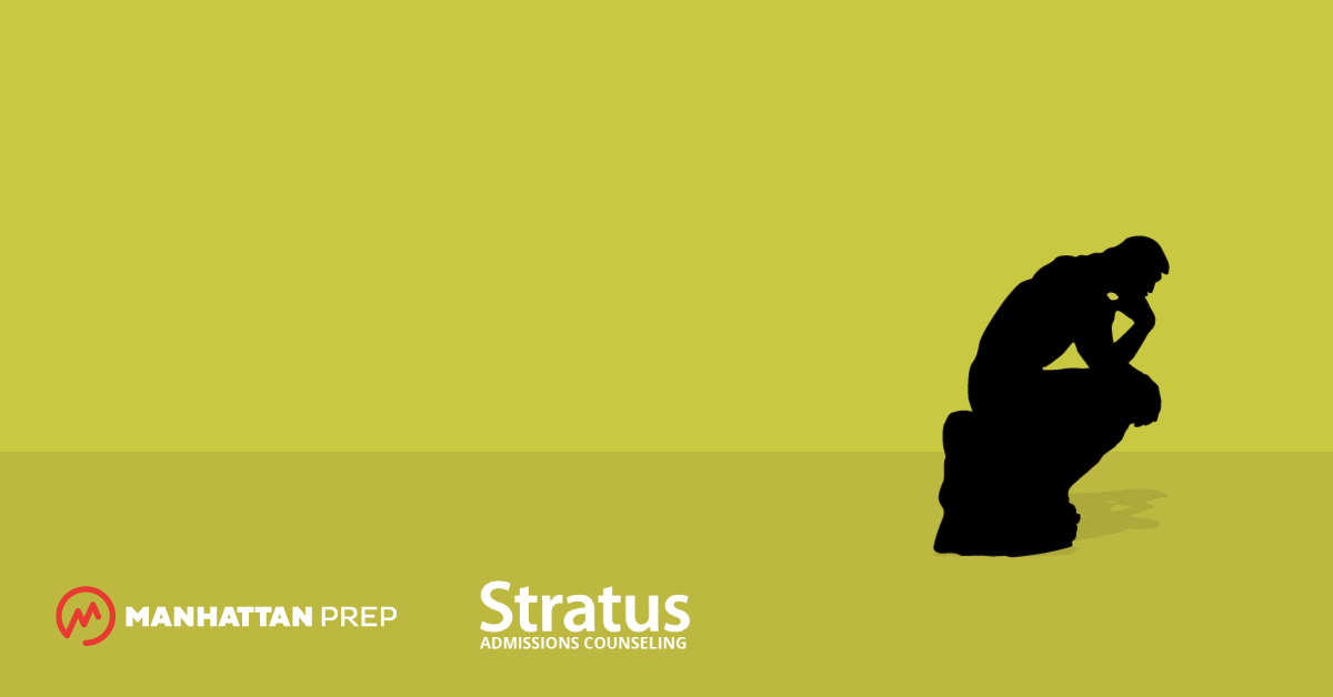 Manhattan Prep LSAT Blog - LSAT or GRE? 4 Considerations for Law School Applicants by Stratus Admissions Counseling