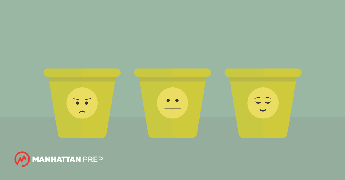 Manhattan Prep LSAT Blog - The Three Buckets of LSAT Answer Choices by Daniel Fogel