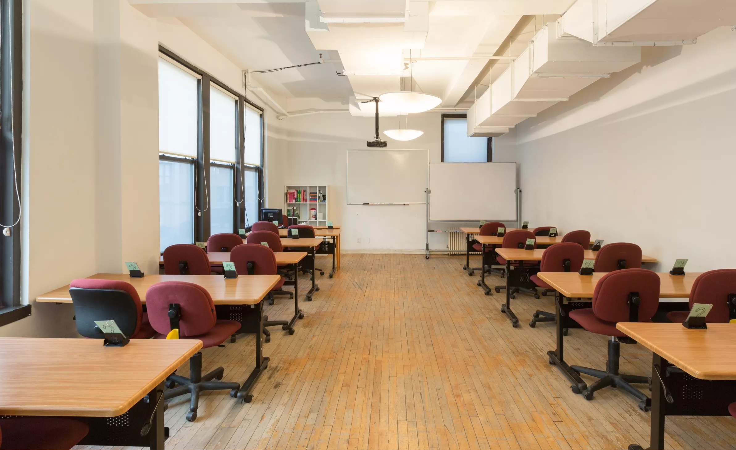 Fits 24 Chairs In Classroom Configuration